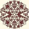 free chart monochrome cross stitch