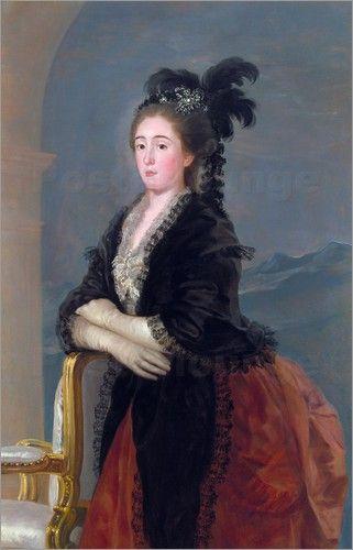 Portrait of Maria Teresa de Vallabriga, 1783  Reinette: Francisco de Goya y Lucientes