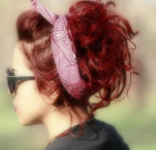 Red hair rockabilly!