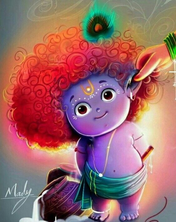 Instagram Radhey Krishna Lord Krishna Wallpapers Cute