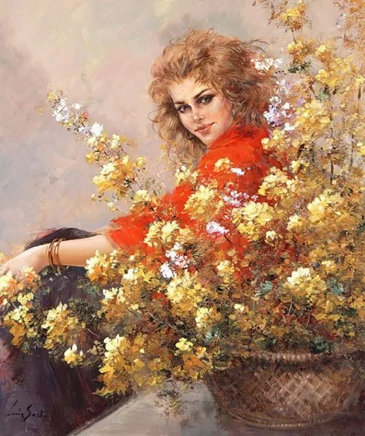 Художник Sarto Lucia Люсия Сарто, современная итальянская художница, родилась в 1950 году, в провинции Удине.