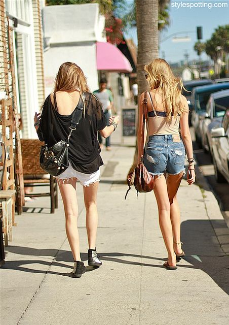 California girls #streetstyle