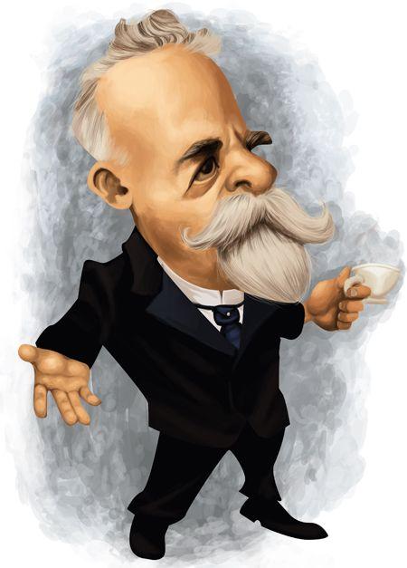 #Caricatura de #Campos Sales, presidente da República de 15/11/1898-15/11/1902.: