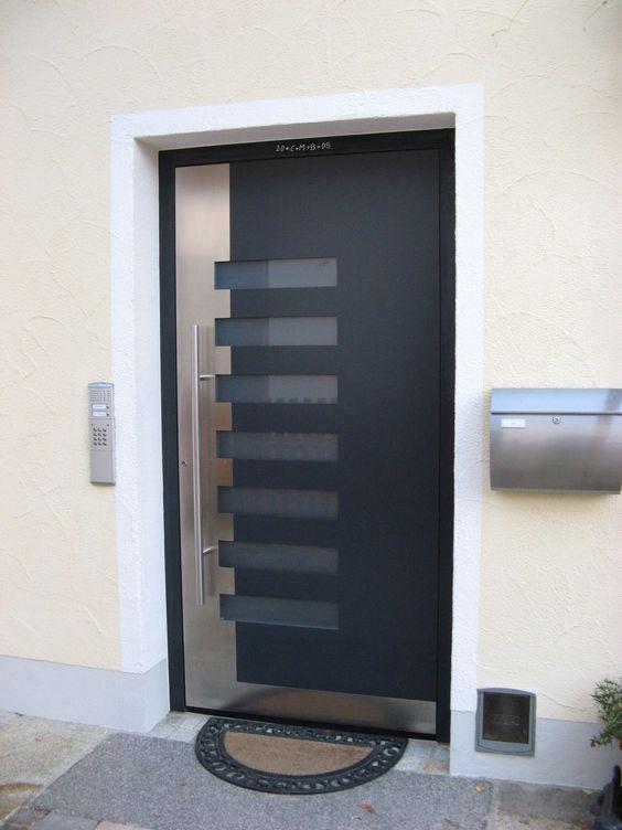 Puertas and google on pinterest - Puertas de entrada de aluminio ...