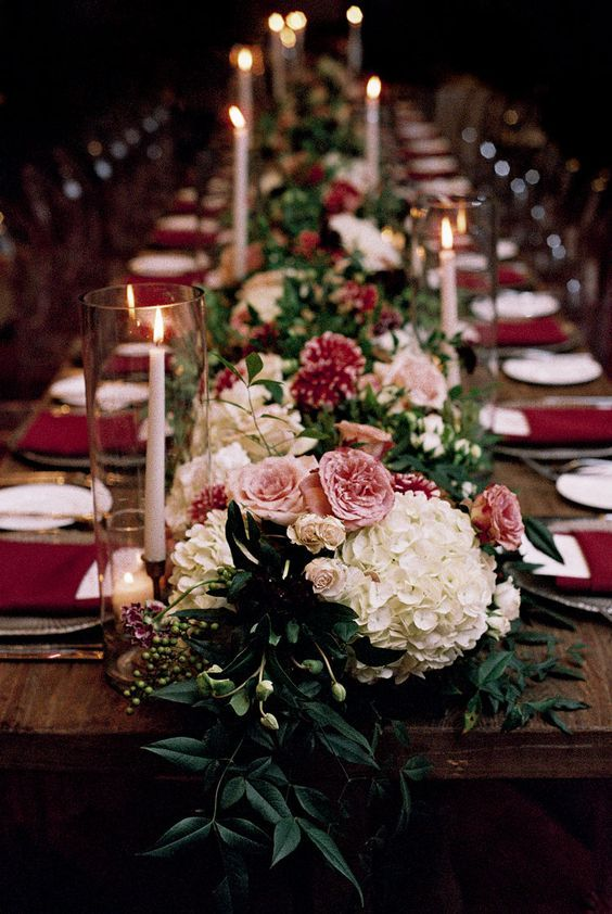 Wedding Dining Table Long Dining Table Wedding Decoration Table Decoration Table Flowers T Flower Centerpieces Wedding Table Runners Wedding Wedding Table