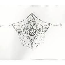 sailor moon underbust tattoo - Google Search