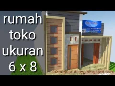 Desain Rumah Toko Minimalis Youtube Desain Rumah Rumah Minimalis