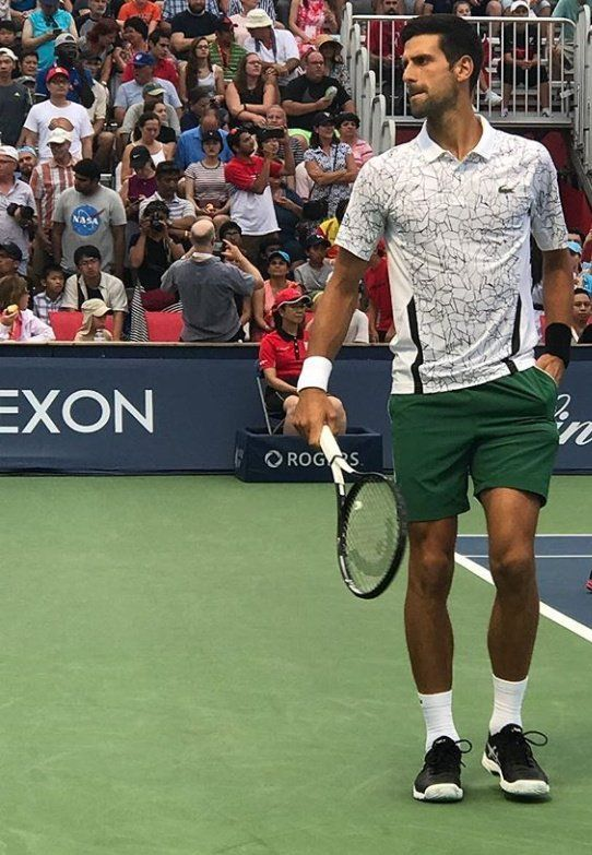 Novak Djokovic In Roger Cup 2018 Tennis Legends Best Tennis Rackets Tennis Players