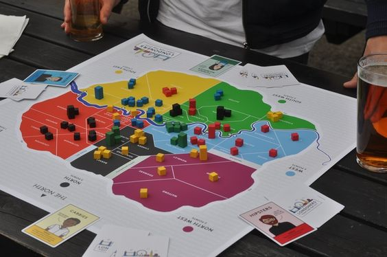 'Londoners' A brand new board game for our city