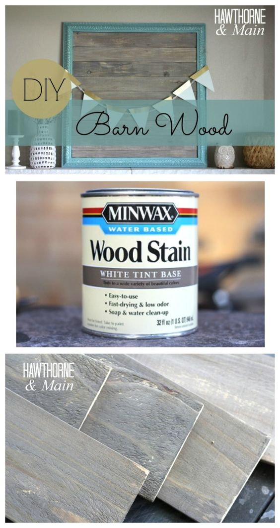 Have you ever wanted to use barn wood but couldn't find any. This is a great tutorial for making your own. It's seems pretty easy!!!: