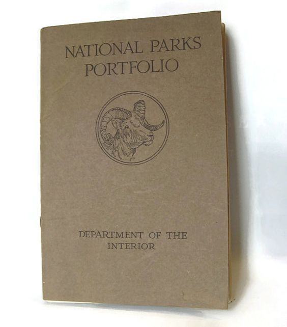 National Parks Portfolio early booklets about US parks c. 1915