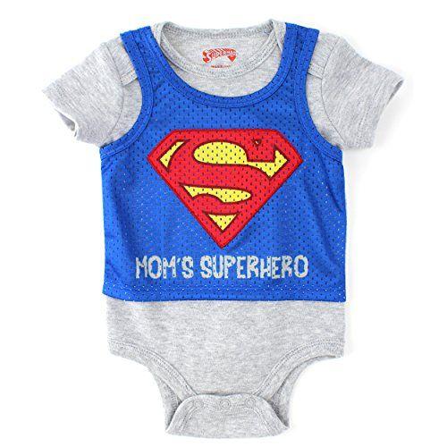 Superman Baby Bodysuit Pinnie (0/3M) DC Comics http://www.amazon.com/dp/B00U1F5GSA/ref=cm_sw_r_pi_dp_SSm-ub0HZR5PE