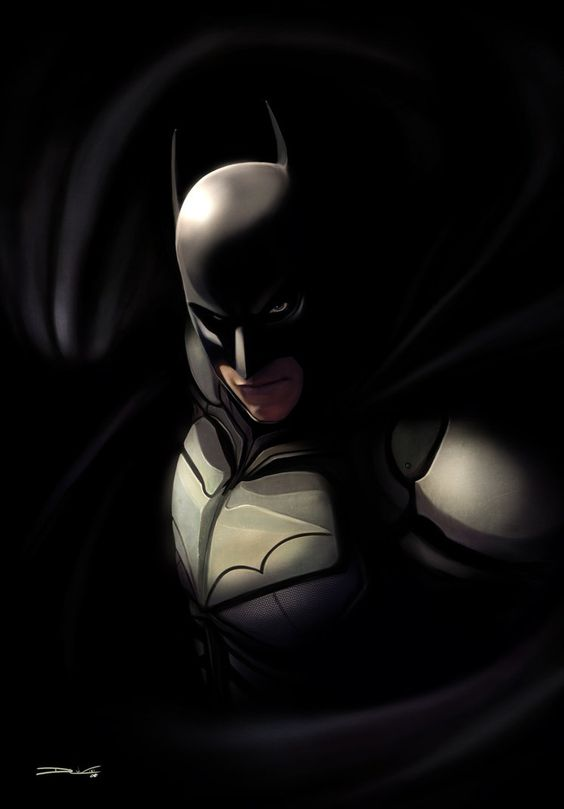 ✯ The Dark Knight -  by `DanLuVisiArt✯