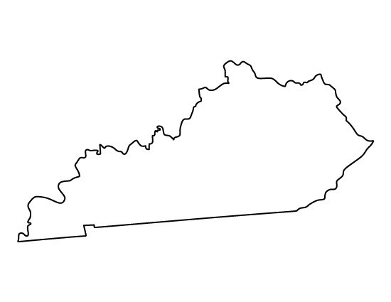 Kentucky outline