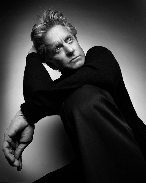 Michael Douglas by Platon
