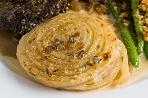 Onion Gratin | Recipe | Pinterest | Thanksgiving sides ...