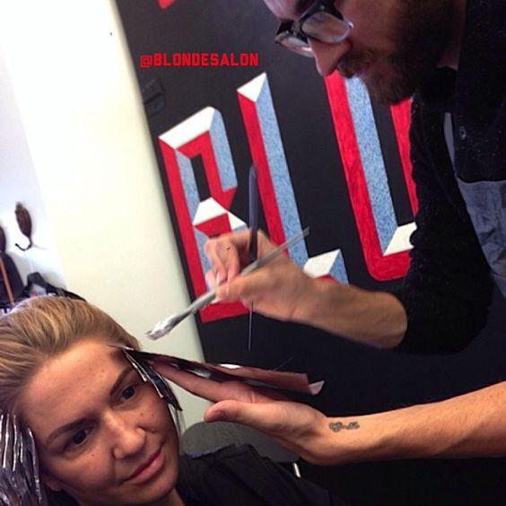 #tbt @Leslie Fuerst doin my hair! #picoftheday #photooftheday #instalike #instagood #bestoftheday #instafollow #me #girl #gorgeous #love #selfie #me #love #blonde #longhair #extensions #hair #blondtourage #comeinwereblonde