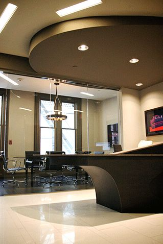 High End Commercial Office Space: Custom House 4th Floor: Reception Desk