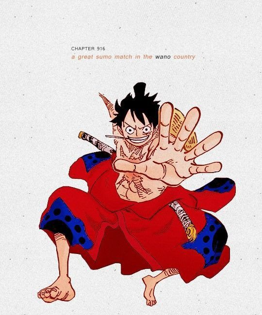 Pin By Re Zero Arc On One Piece Wano Arc One Piece Chapter