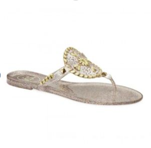 Jack Rogers Sparkle Georgica Jelly Sandal- Multi from Shop Southern Roots TX