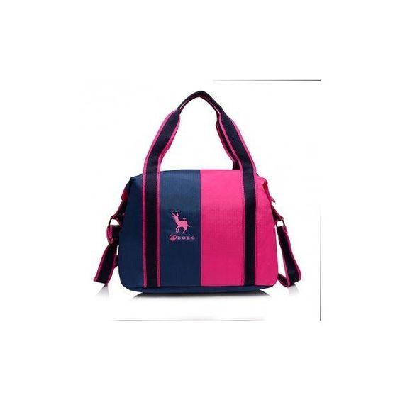 Women Causal Waterproof Nylon Large Capacity Contrast Color Handbag... (24 AUD) ❤ liked on Polyvore featuring bags, handbags, shoulder bags, crossbody bags, white, crossbody handbags, handbags crossbody, white handbags, purse crossbody and man bag