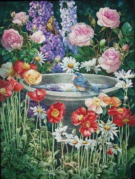 bird bath (63 pieces)