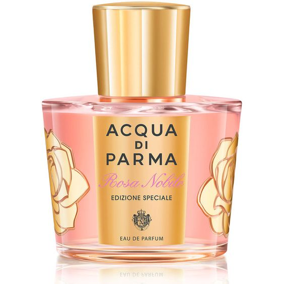 Acqua di Parma Rosa Nobile Eau de Parfum Special Edition found on Polyvore featuring beauty products, fragrance, perfume, acqua di parma perfume, edp perfume, flower fragrance, acqua di parma and flower perfume