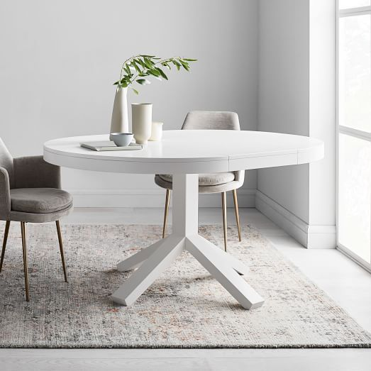37++ West elm round extendable dining table Trend