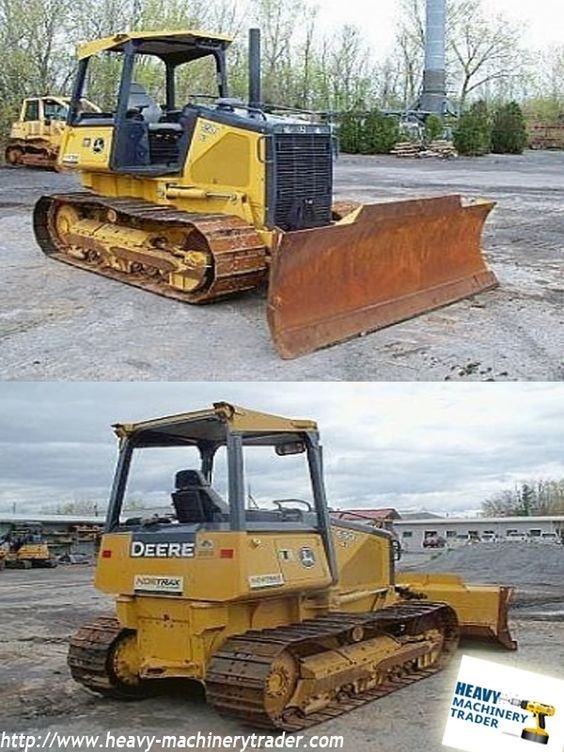 USED 2009 #DEERE 650J XLT #DOZER REVIEW