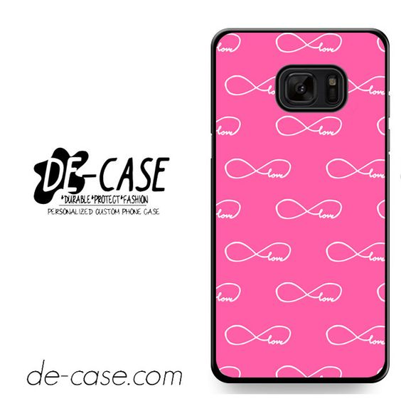 Pink Infinity Love Collage DEAL-8690 Samsung Phonecase Cover For Samsung Galaxy Note 7
