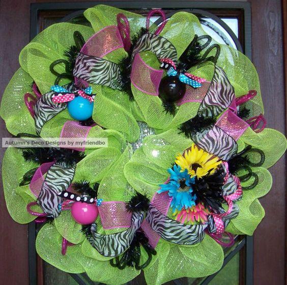 Colorful Zebra Spring
