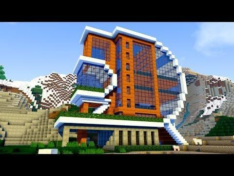 Minecraft Best Minecraft House In The Whole World Futuristic Modern House Minecraft Modern Minecraft Mansion Cool Minecraft Houses