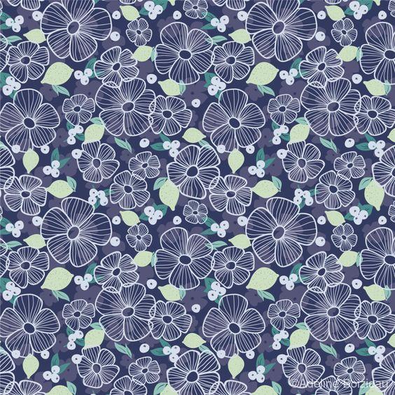 Lemon Liberty - Adeline Boizieau - Patterns & Quotes