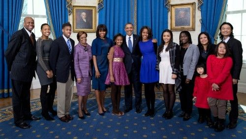 The Extended Obama Family Inauguration Portrait | Michelle Obama Pictures - Photos of the First Lady