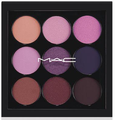 MAC Eyeshadow X9 palette in Purple