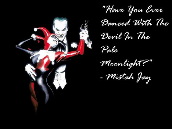 Joker Love Quotes : Harley And Joker Love Quotes. QuotesGram truth Pinterest Dark ...
