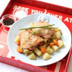 This is the best and easiest roast chicken recipe you'll come across!