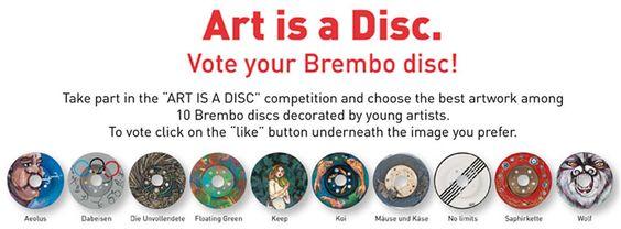 Brembo @ Automechanika _ Art is a disc