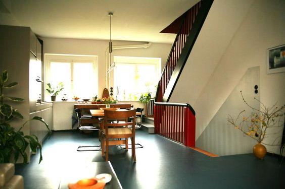 Schicke Maisonette-Wohnung im Bauhausstil, 3min zur U-Bahn - Wohnung in Berlin-Wedding