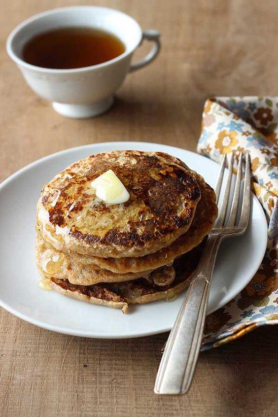 Pancake végétal, sans gluten ni matière grasse