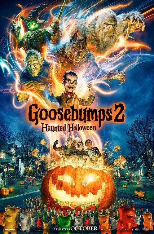 Goosebumps 2 Haunted Halloween In 2021 Halloween Movie Poster Goosebumps 2 Goosebumps