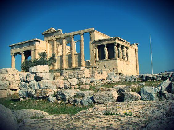 Erecteón, Atenas, Grecia