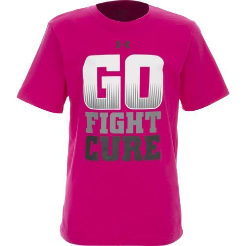 Under Armour 'Go Fight Cure' Power In Pink® T-Shirt (Little Boys ...
