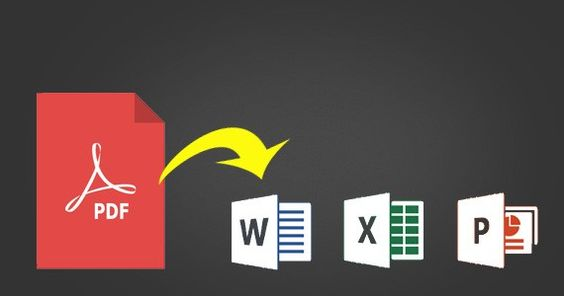 How to Convert PDF Files to Word, Excel and PowerPoint | GeekDashBoard.com