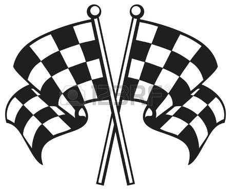 Stock Vector Checkered Flag Decal Checkered Flag Best Flags