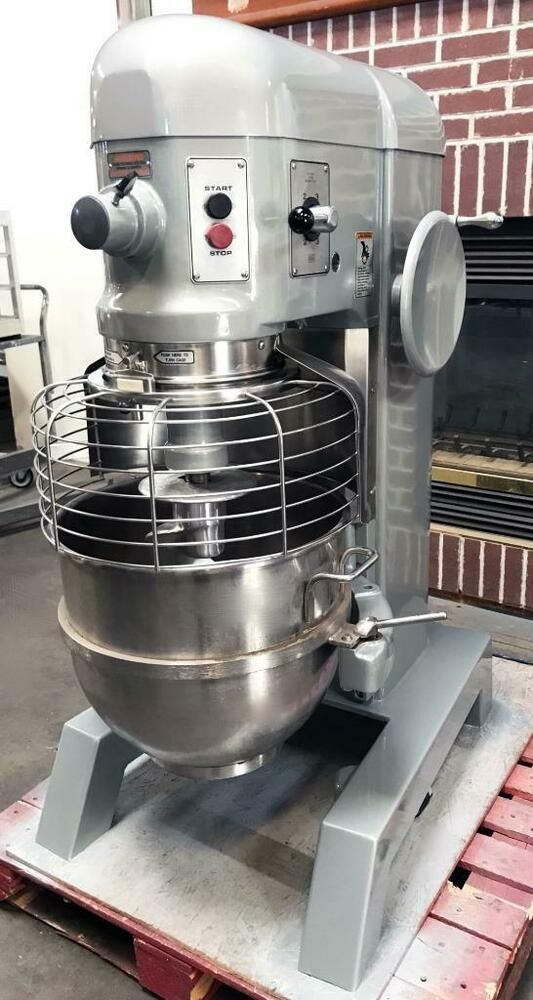 Hobart H 600 60 Quart Dough Mixer With Bowl Hook Guaranteed Excellent Condition 30 Day Warr Restaurant Equipment Commercial Kitchen Equipment Food Stands