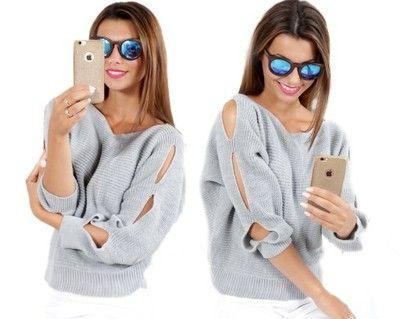 Modna Seksowny Sweter Bluzka Rozciecia Zoya 6510881321 Oficjalne Archiwum Allegro Fashion Sweaters Cardigan