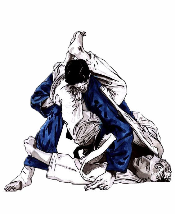 Image result for bjj artwork | BJJ | Jiu jitsu, Brazilian