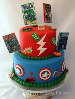 Avengers B-Day party ideas