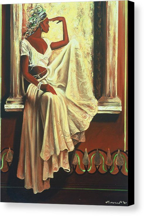 Contemplation Canvas Print By Lee Ransaw All Canvas Prints Are Professionally Printed Assembled And Shipped W African American Art Afrocentric Art Black Art